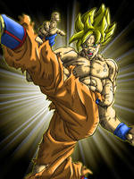 Dragon Ball - Son Goku by Y2JD