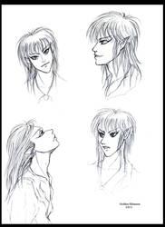 Goblin King Sketches by GoddessRhiannon13