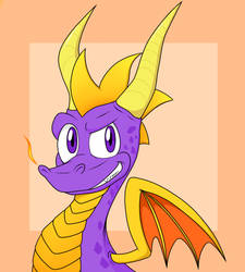 Spyro the Dragon by Chris-Draws
