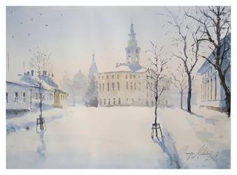 A simple Winter by sampom