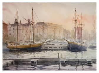 Old Ships by sampom