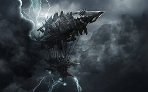 Lightning Airship by musegames