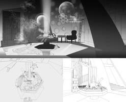 Tardis Concept Design by OrneryJen