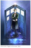 Doctor Who: Bigger on the Inside by OrneryJen