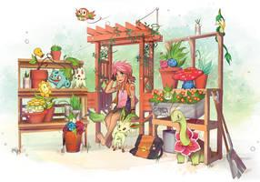 Poke Garden by OrneryJen