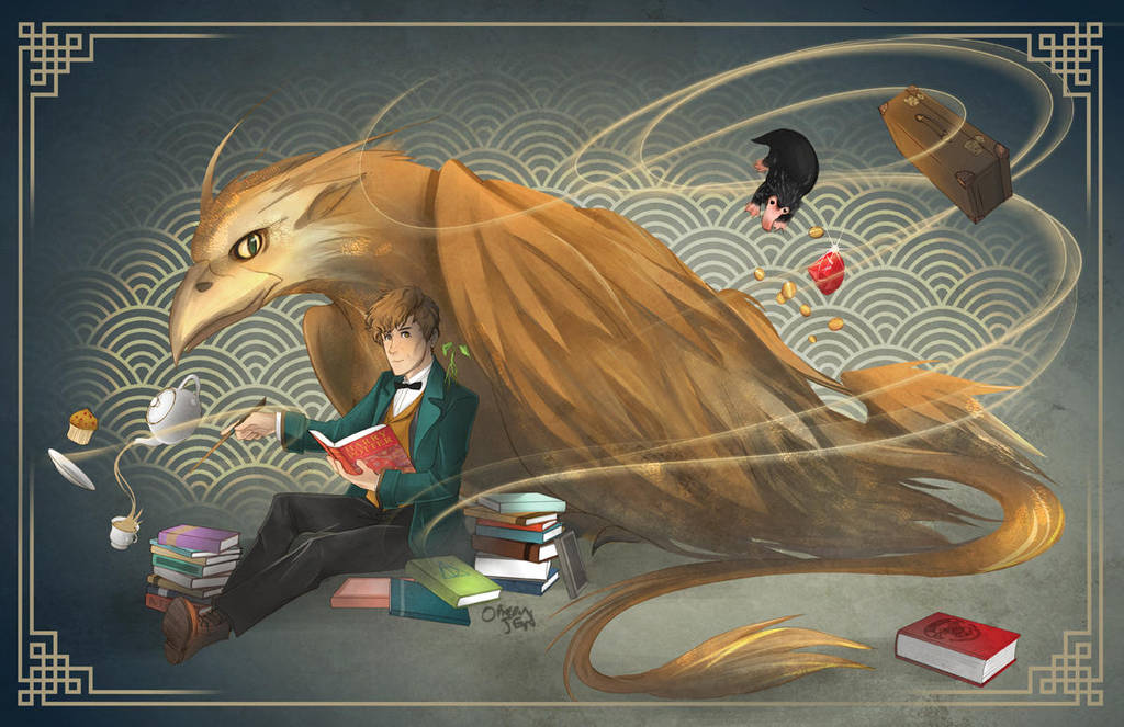 Fantastic Books (And where to find them) by OrneryJen