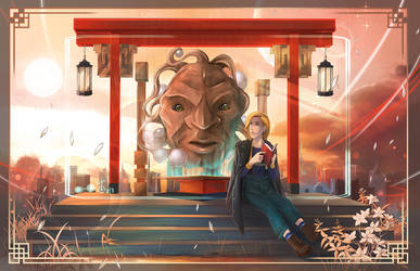 Doctor Who: Face of Bae by OrneryJen
