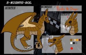 5NR  Ruster The Dragon by Aroa-Samanta