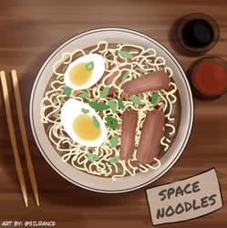 Space Noodles by silrance