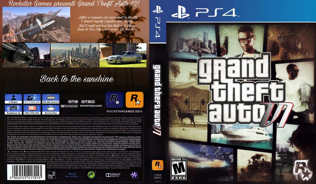 Gta 6 Cover