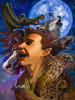 Loki the Shifter by samflegal