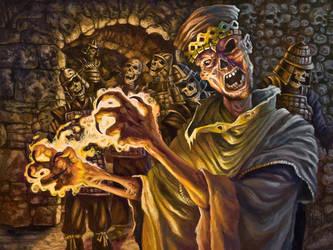 Noekam the Mummy Lord by samflegal