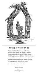 Voluspa Verse 64-65 by samflegal