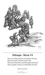 Voluspa Verse 14 by samflegal