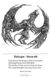Voluspa Verse 66 by samflegal