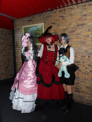 2 Ciel and their aunt by Lili-Nyappy