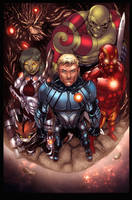 Guardians of the Galaxy by Gwendlg