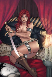 Red Sonja by Gwendlg