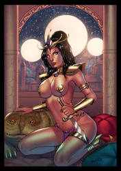 Dejah Thoris by Gwendlg