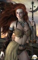 Tattooed Warrior by pixeluna