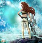 Venus 2813 A.D. by pixeluna