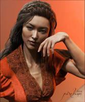 Mei Lin Portrait by pixeluna