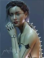 Synx Portrait by pixeluna