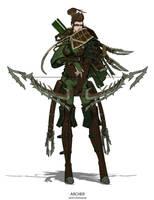 Archer by AntonParadigm