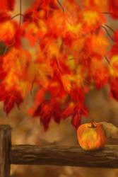 Apple in the Autumn  by blueshywolf124