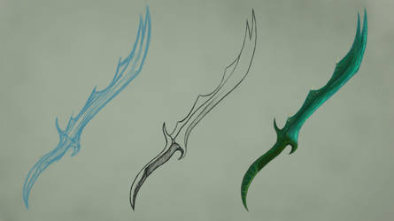 Serpent Sword Concept. by PugWizer