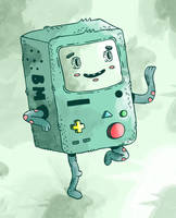 BMO by jakeliven