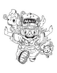 Arale by jakeliven