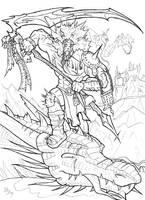 Dragon Slayer by dragonnetstorm