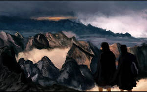 Sam and Frodo by pizdUrRart