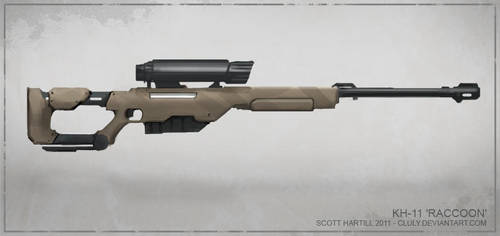 KH-11 'Raccoon' Sniper Rifle by Cluly
