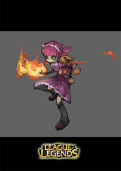 League of Legends---Annie by TEnmoom