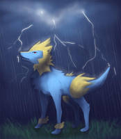Week 3: Manectric by kyndling