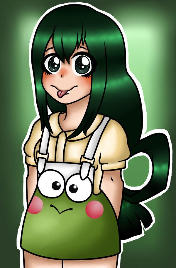 Tsuyu Asui - Best Girl :3 by Desenhos-Bugadinhos