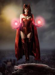 Scarlet Witch by Rickochet12