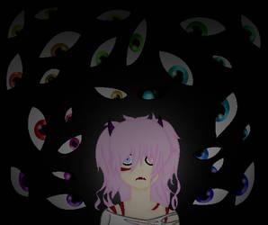 Goretober 5 - Lots of eyes | Mercy by ShadowedLightx