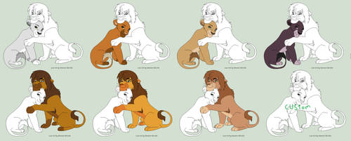 Breading lions by gemms11