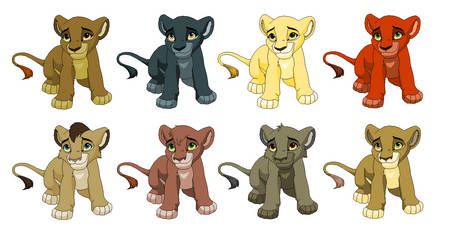 3 point lion adopts by gemms11