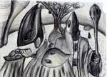 Eldar Farseer and Warlock by AnaLoGMunKy