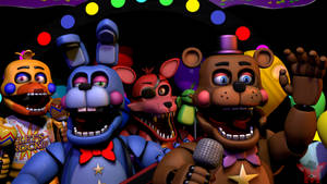 FNaF SFM: The Rockstars by Mikol1987