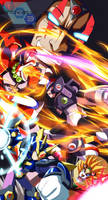 Commission: Megaman X4 by innovator123