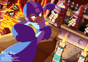 Ancient Temple (Megaman 8) by innovator123