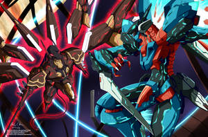 Commission: Zone of the Enders by innovator123