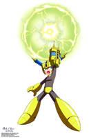 Megaman 11 - Scramble Thunder by innovator123