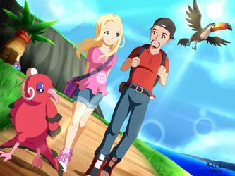 Comission: Pokemon print 1 by innovator123