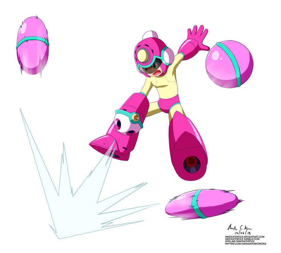 Megaman 11 - Bounce Ball by innovator123